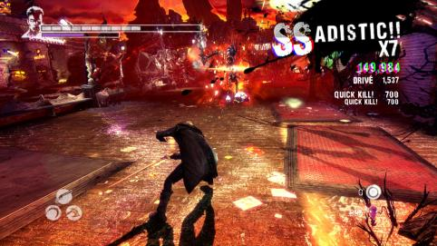 DmC changed the style rank names, but it's still as rewarding as ever! (Image Credit: hingeproblems.com)