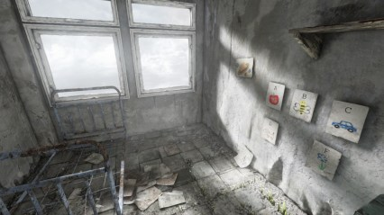 An abandoned room brings so much to mind.