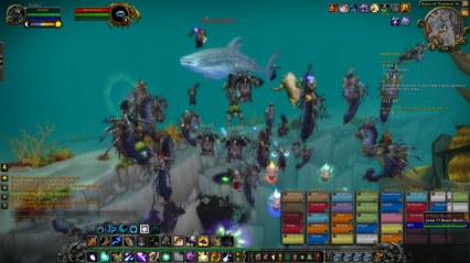 Sometimes we all banded together to take down Moby Dick and some cool screenshots!