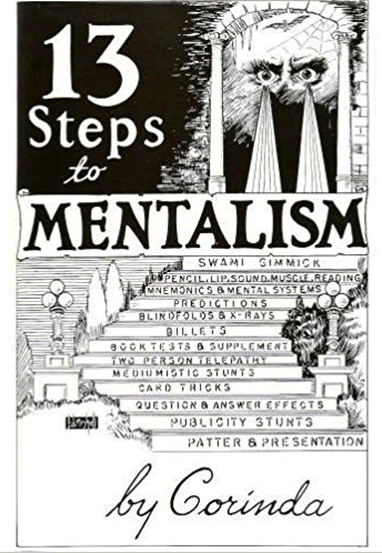 What are the best books about mentalism to buy - 13 Steps to Mentalism book