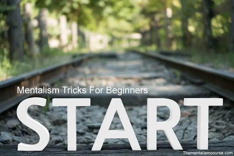 Mentalism tricks for beginners
