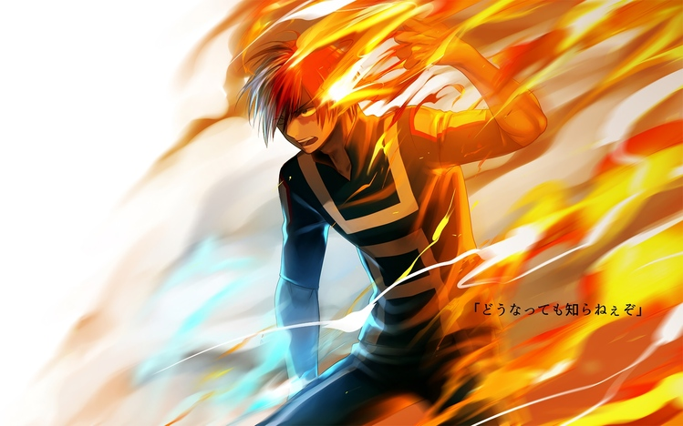 there are hundreds of wallpapers for windows, but it can be hard. My Hero Academia Windows 10 Theme - themepack.me
