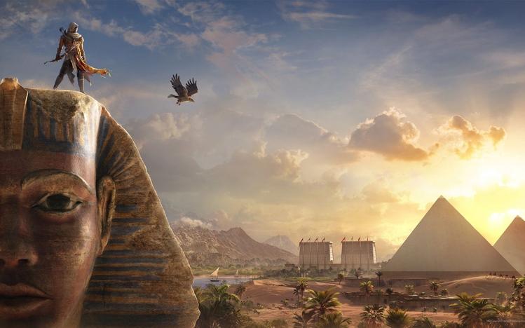 Assassins Creed Origins Windows 10 Theme Themepackme