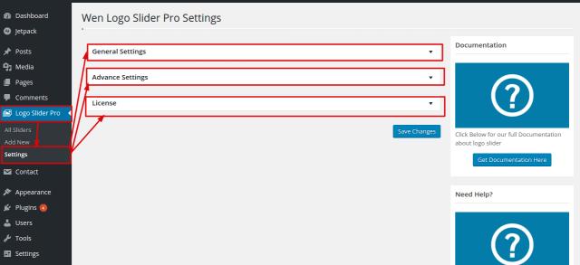 wen-logo-slider-pro-settings-submenu