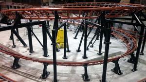 Freizeitpark Plohn - Powered coaster test