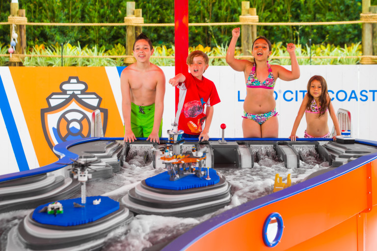 SARASOTA, FL - March 11, 2016 -- LEGOLAND Florida Resort opens Build-a-Boat In the Water Park.  (PHOTO / CHIP LITHERLAND)