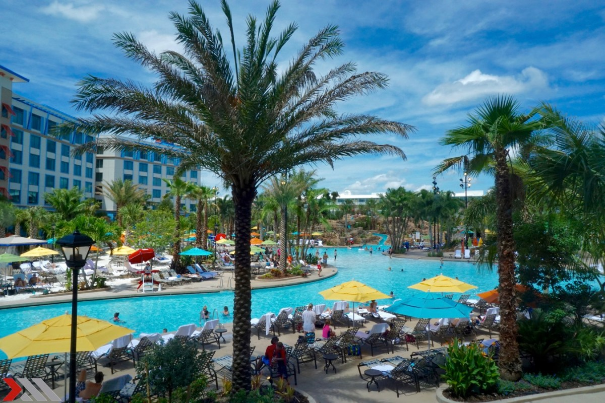 Opening Weekend at Loews Sapphire Falls Resort at Universal Orlando Resort