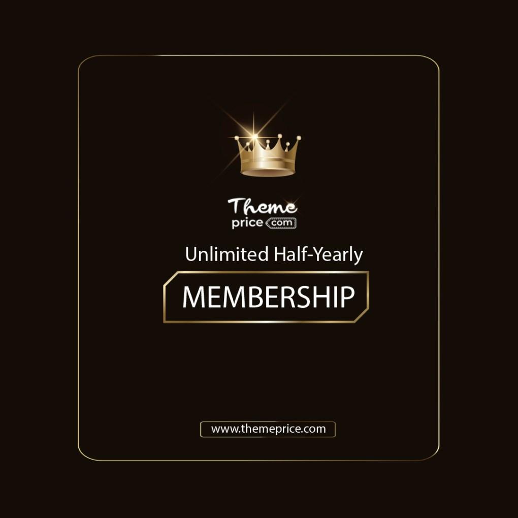 Premium Membership Half Yearly