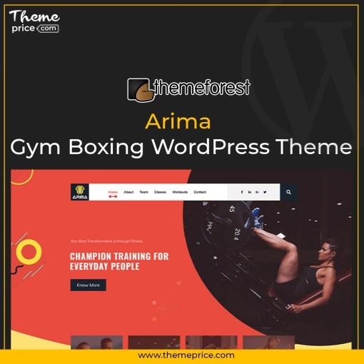 Arima – Gym Boxing WordPress Theme