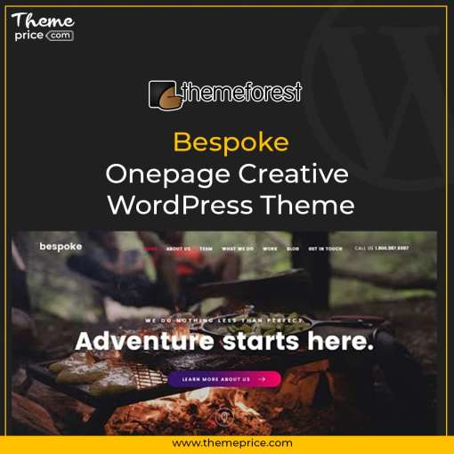 Bespoke – Onepage Creative WordPress Theme-min