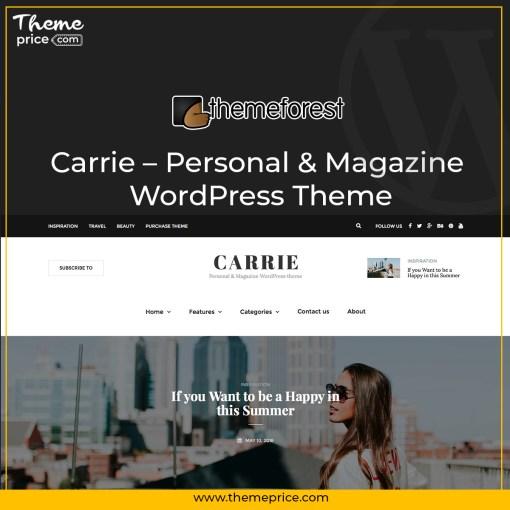 Carrie – Personal & Magazine WordPress Theme