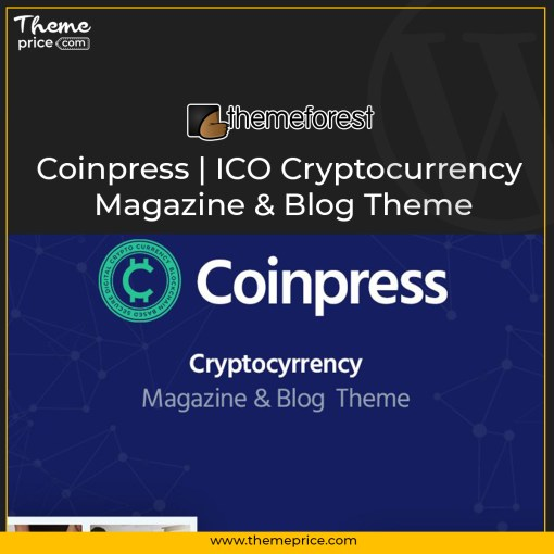Coinpress | ICO Cryptocurrency Magazine & Blog Theme