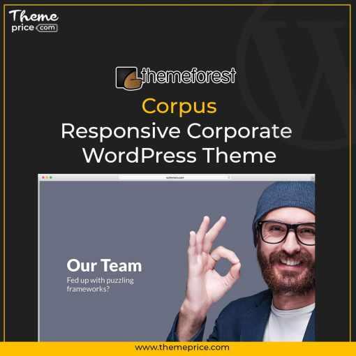 Corpus – Responsive Corporate WordPress Theme