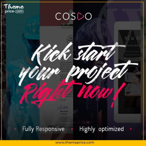 Cospo – Creative Multi-purpose HTML Template