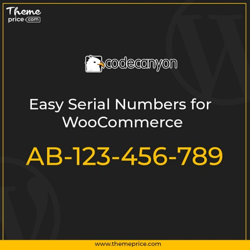 Easy Serial Numbers for WooCommerce