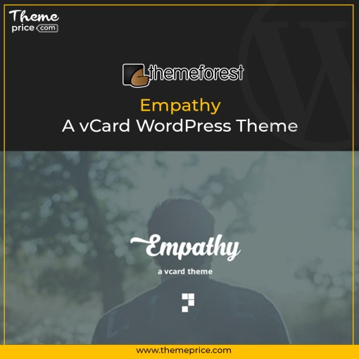Empathy – A vCard WordPress Theme