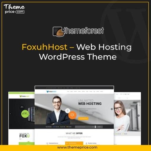 FoxuhHost – Web Hosting WordPress Theme