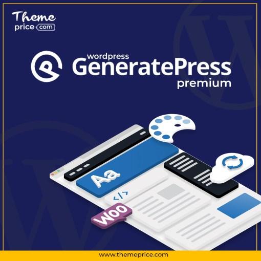 GeneratePress Premium WordPress Theme + Plugin