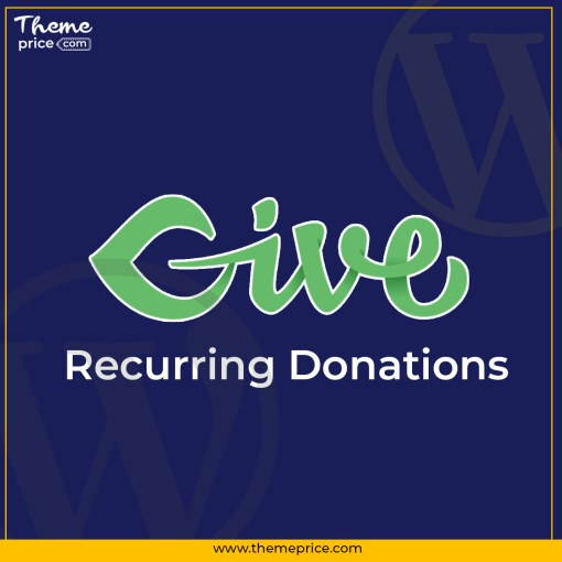 Give Recurring Donations
