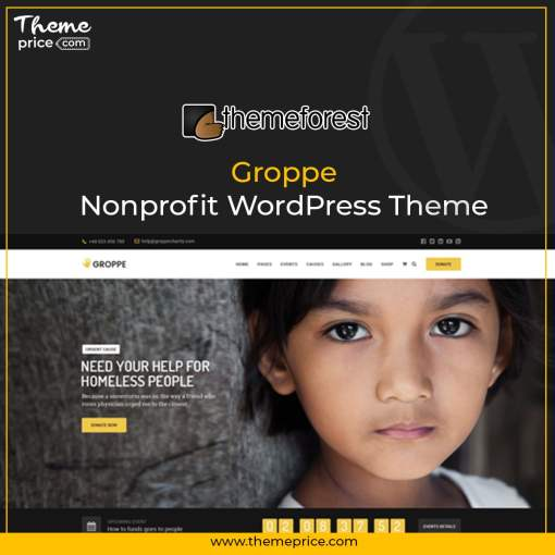 Groppe – Nonprofit WordPress Theme