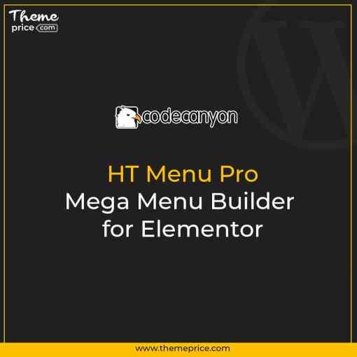 HT Menu Pro – Mega Menu Builder for Elementor