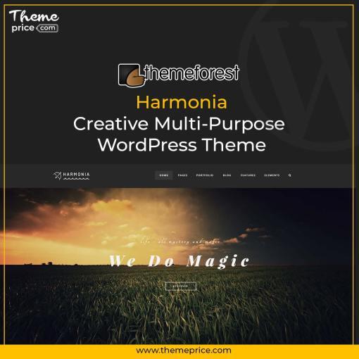 Harmonia – Creative Multi-Purpose WordPress Theme