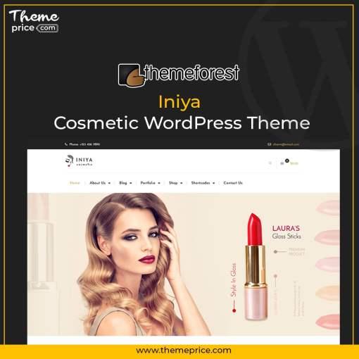 Iniya – Cosmetic WordPress Theme
