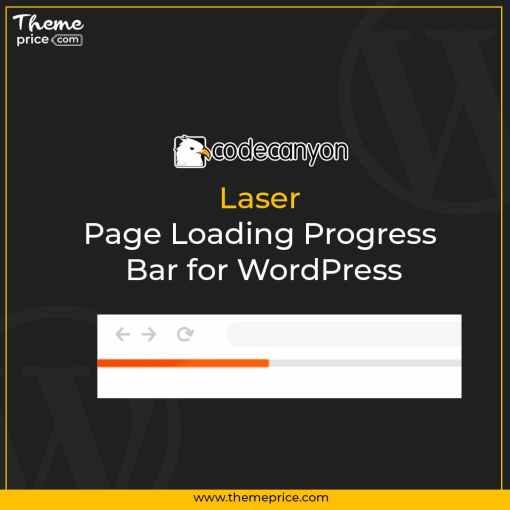 Laser – Page Loading Progress Bar for WordPress