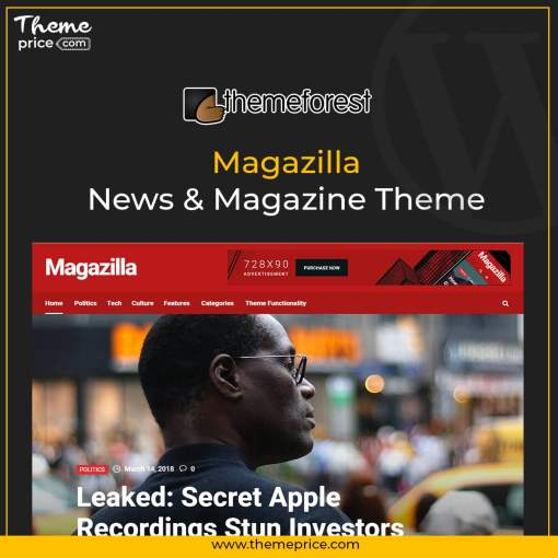 Magazilla – News & Magazine Theme
