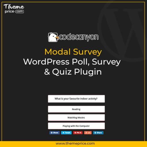 Modal Survey – WordPress Poll, Survey & Quiz Plugin