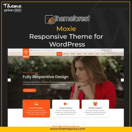 Moxie – Responsive Theme for WordPress