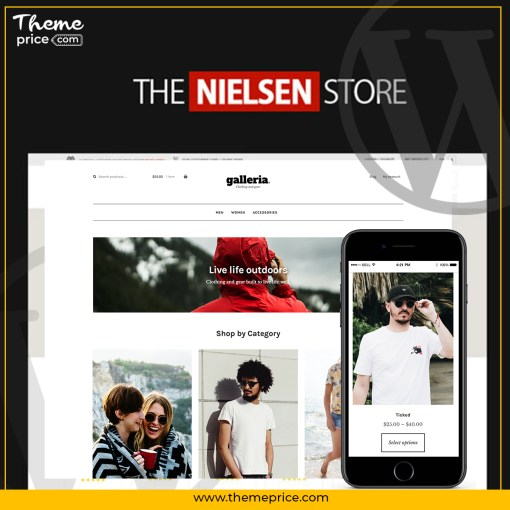 Nielsen – E-commerce WordPress Theme