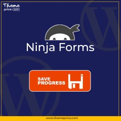Ninja Forms Save Progress