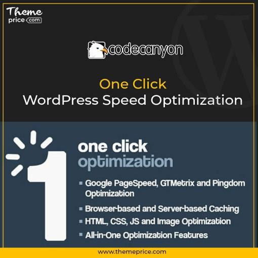 One Click – WordPress Speed Optimization