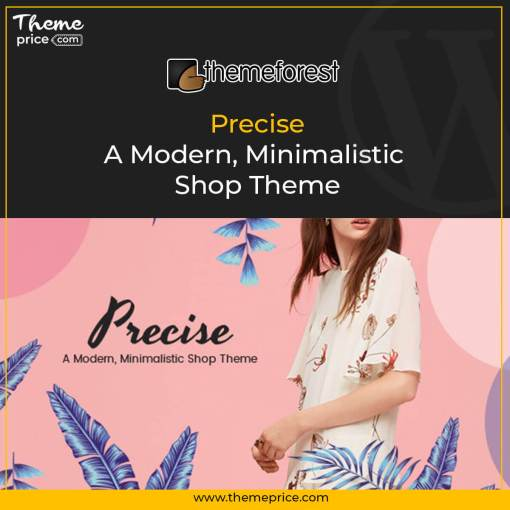 Precise – A Modern, Minimalistic Shop Theme