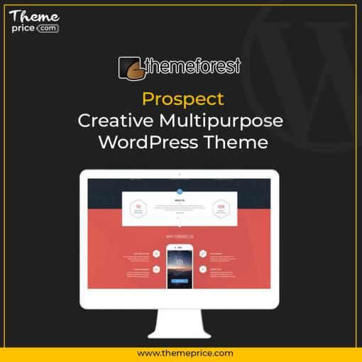 Prospect – Creative Multipurpose WordPress Theme