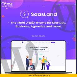Saasland – MultiPurpose WordPress Theme for Startup