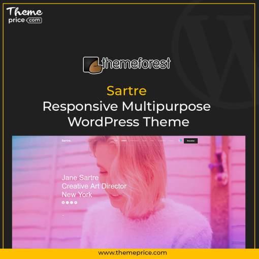 Sartre – Responsive Multipurpose WordPress Theme