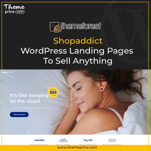 Shopaddict – WordPress Landing Pages To Sell Anything