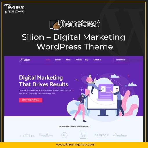 Silion – Digital Marketing WordPress Theme