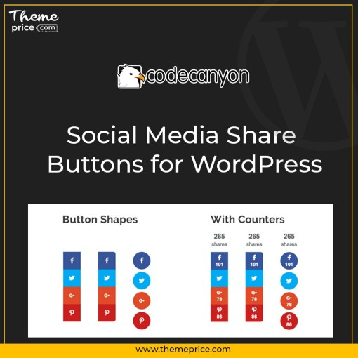 Social Media Share Buttons for WordPress