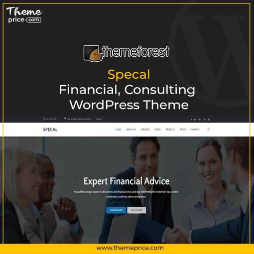 Specal – Financial, Consulting WordPress Theme