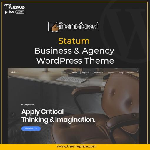 Statum – Business & Agency WordPress Theme
