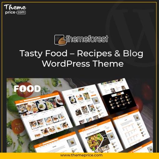 Tasty Food – Recipes & Blog WordPress Theme