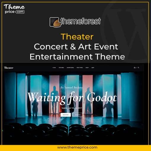 Theater – Concert & Art Event Entertainment Theme