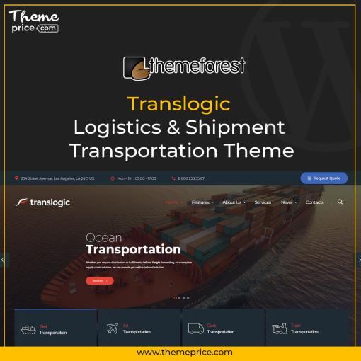 Translogic | Logistics & Shipment Transportation Theme