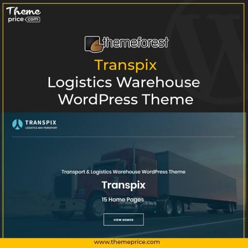 Transpix – Logistics Warehouse WordPress Theme