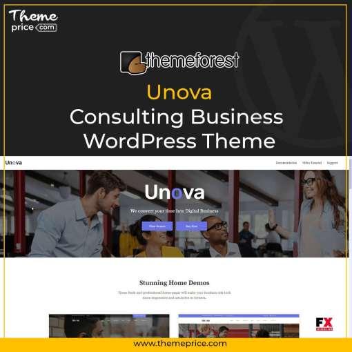 Unova – Consulting Business WordPress Theme