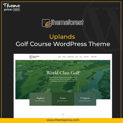 Uplands – Golf Course WordPress Theme