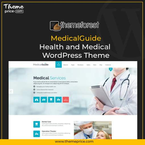 MedicalGuide – Health and Medical WordPress Theme